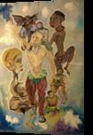 Light of Contradictions, Paintings, Sensationalism, Grotesque, Canvas,Gouache,Oil, By Eka Goderdzi Rukhadze
