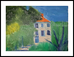 Little House, Paintings, Impressionism, Landscape, Oil, By MD Meiser
