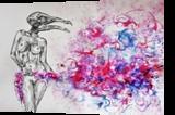 Magic Bird, Decorative Arts,Drawings / Sketch,Folk Art,Illustration,Paper Art,Tattoo, Abstract,Chance,Commercial Design,Cubism,Dadaism,Existentialism,Expressionism,Fauvism,Fine Art,Futurism,Hallucinogens,Impressionism,Realism,Romanticism,Shock,Surrealism,Symbolism, Anatomy,Animals,Decorative,Erotic,Fantasy,Grotesque, Ink, By Misia Slemp