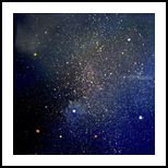 Milky Way, Paintings, Fine Art, Celestial / Space, Oil, By fred wilson