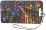 Rainy street night, Graphic, Fine Art,Realism, Cityscape, Acrylic,Canvas,Painting, By Digvijay Singh Rathore