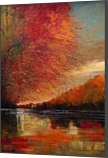 River, Paintings, Expressionism,Impressionism,Surrealism, Landscape, Oil, By Justyna Kopania