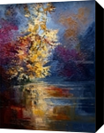 River, Paintings, Expressionism,Impressionism, Landscape, Oil, By Justyna Kopania