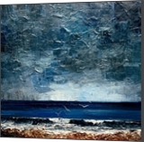 Sea, Paintings, Expressionism,Impressionism, Seascape, Canvas,Oil, By Justyna Kopania