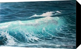 Sea wave, Paintings, Realism, 3-D,Nature, Canvas,Oil, By Aflatun Israilov
