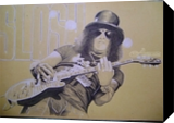 Slash, Drawings / Sketch,Graphic,Paintings, Fine Art,Photorealism,Pop Art,Realism, Music,Portrait,Prehistoric Rock Art, Painting, By Oleg Kozelskiy