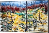 Spring mood, Paintings, Expressionism, Landscape, Acrylic, By Victor Ovsyannikov