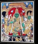 Sri Ramar Pattabhishekam, Decorative Arts, Fine Art, Figurative, Glass, By RAGUNATH VENKATRAMAN