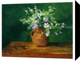 Still life with clay pot, Paintings, Fine Art,Realism, Botanical,Figurative,Floral,Still Life, Acrylic,Painting, By Dario Lo Iacono