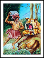 The Beast of Beasts, Paintings, Expressionism, Animals, Canvas, By RAGUNATH VENKATRAMAN