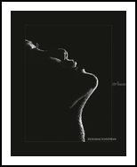 The Face - Choreographing the Chiaroscuro, Photography, Expressionism,Fine Art,Photorealism, Erotic,Figurative,People, Photography: Photographic Print, By L Ramachandran Laxhmanan
