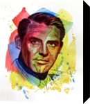 The power of color - Cary Grant, Paintings, Modernism,Realism, Figurative,People,Portrait, Painting,Watercolor, By Dario Lo Iacono