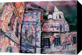 The town Torzhok (4), Paintings, Expressionism, Architecture, Watercolor, By Victor Ovsyannikov