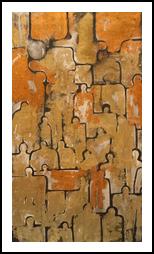 Urbanisms, Paintings, Abstract, Avant-Garde, Oil, By Sana Verba