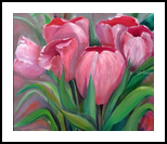 Waiting to Exhale, Paintings, Impressionism, Botanical, Oil, By Kathelen Lee Weinberg