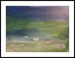 Waterlillies #8, Paintings, Impressionism, Landscape, Oil, By MD Meiser