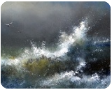 Wave, Calligraphy,Carvings,Chalk,Deco rative Arts,Digital Art / Computer Art,Functional Art,Paintings,Pastel, Expressionism,Fine Art,Modernism, Botanical,Celestial / Space,Daily Life,Decorative,Landscape,Seascape, Acrylic,Canvas,Egg Tempera,Ice, By Igor Igor Medvedev Medvedev