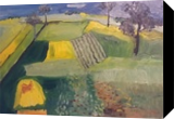 Wheatfields, Paintings, Impressionism, Landscape, Oil, By MD Meiser