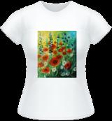 A flurry of summer, Paintings, Fine Art, Nature, Acrylic, By Marta Kuźniar