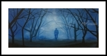 Whistling in the Dark, Paintings, Impressionism, Landscape, Oil, By Stephen Keller