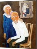 A LIFE, Paintings, Modernism, Figurative, Canvas, By ZAKIR AHMEDOV