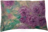 A PIECE OF MAY original oil painting of roses bush, Paintings, Fine Art,Impressionism, Botanical,Floral,Nature, Canvas,Oil, By Emilia Milcheva