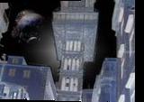 A world near an eclipse, Digital Art / Computer Art, Futurism, Celestial / Space, Digital, By Bernard Harold Curgenven