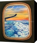 Above The Clouds, Paintings, Fine Art, Conceptual, Acrylic, By adam santana