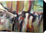 abstract #7500, Paintings, Abstract, Avant-Garde, Oil,Painting, By Joseph Culotta