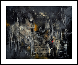 abstract 184150, Paintings, Abstract, Decorative, Canvas, By Pol Henry Ledent