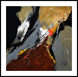 abstract 445102, Paintings, Abstract, Decorative, Canvas, By Pol Henry Ledent