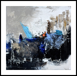 abstract 4451703, Paintings, Abstract, Decorative, Canvas, By Pol Henry Ledent