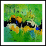 abstract 4461701, Paintings, Abstract, Decorative, Canvas, By Pol Henry Ledent