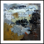 abstract 4461702, Paintings, Abstract, Decorative, Canvas, By Pol Henry Ledent
