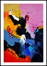 abstract 4631902, Paintings, Abstract, Decorative, Canvas, By Pol Henry Ledent