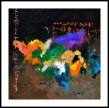 abstract 6641601, Paintings, Abstract, Decorative, Canvas, By Pol Henry Ledent