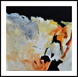 abstract 8841012, Paintings, Abstract, Decorative, Canvas, By Pol Henry Ledent