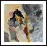 abstract 8841602, Paintings, Abstract, Decorative, Canvas, By Pol Henry Ledent
