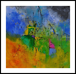 abstract 8841701, Paintings, Abstract, Decorative, Canvas, By Pol Henry Ledent