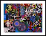Abstract Composition 129, Decorative Arts,Digital Art / Computer Art,Poster, Abstract, 3-D,Conceptual,Decorative, Digital, By Angel Jose Estevez