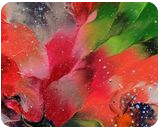 Abstract Floral, Paintings, Abstract,Fine Art, Botanical,Fantasy,Floral,Nature, Acrylic,Canvas, By Irini Karpikioti