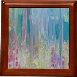 Abstract Summer - a summer wildflower impression, Paintings, Abstract,Expressionism,Impressionism, Floral, Oil, By Gill Bustamante