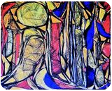 Abstraction II, Digital Art / Computer Art, Abstract, Decorative, Digital, By Antonio Carlos Mongiardim Gomes Saraiva