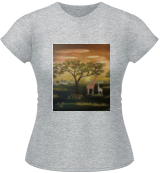 Africa, Land Art, Fine Art, Landscape, Canvas, By Sulita Xieernayi Kosteyn