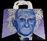 Albert Einstein, Paintings, Impressionism, Portrait, Acrylic, By Curtis Dickman