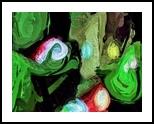 Aliens At Night, Digital Art / Computer Art, Abstract, Analytical art,Decorative, Digital, By Henry Lizarraga