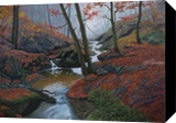 Along the Mullerthal Trail, Paintings, Realism, Nature, Oil, By Beverly Hart Theriault