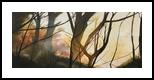 Amber Light, Paintings, Impressionism, Landscape, Oil, By Stephen Keller