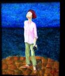Amelia, Paintings, Impressionism, People, Acrylic, By Eric Kirkpatrick