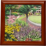 Amelia Park Flowers, Paintings, Impressionism, Landscape, Oil, By Richard John Nowak